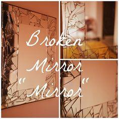Recipes, Projects & More - Creative Broken Mirror DIY Ideas
