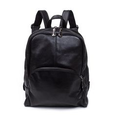 c46708e78f BAIGIO Unisex New Casual Soft Leather Backpack Travel Camping Purse Bag      You can find more details by visiting the image link.