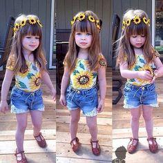 ¿Del 1 al 10 cuanto le das al estilo de esta hermosa niña?❤