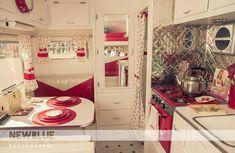 Love! Vintage camper.