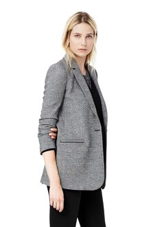 Check suit blazer -  Women   MANGO