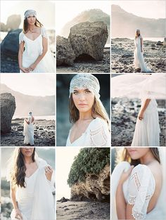 Beach bridal session captured by Erich Mcvey http://www.weddingchicks.com/2014/04/17/beach-bridal-session-tips/