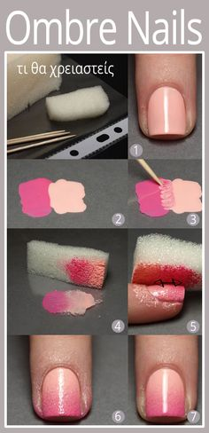 DIY - Ombre Nails