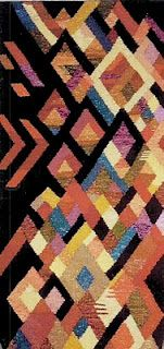 Tapestry by Claudia Chase woven on a Mirrix Loom. Repinned by Elizabeth VanBuskirk on my favorites. This looks like plaiting to me.