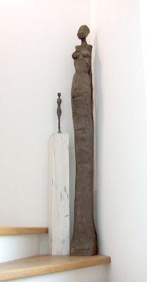 Klaus Heilmann Objekte und Skulpturen:  Sculpture, Wood, 180cm