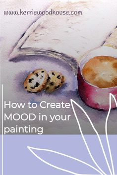 The reason we love art is that it stirs an emotional reaction - it makes us feel something. An image can convey so much in an instant and each of us has our own unique response. So how do you intentionally create a mood in your painting? Let's start with these 6 tips #painting #mood Acrylic Painting Tips, Watercolor Tips, Painting & Drawing, Learn Art, Learn To Paint, Beginner Art, Mood Light, Happy Paintings, Make Happy