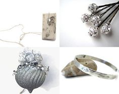 Lovely Gift Ideas by Norma on Etsy featuring modern minimalist gray concrete jewelry by shooohsJewelry