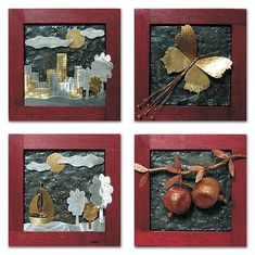 Christmas Diy, Merry Christmas, Wood And Metal, Clay Art, Rock Art, Handicraft, Decoupage, Diy And Crafts, Objects