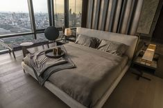 Elegant and Majestic Apartment with Views Over the City of Bangkok