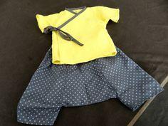 Kimono et sarouel naissance