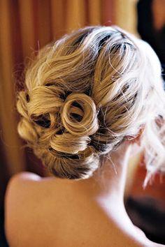 wedding hair. love this