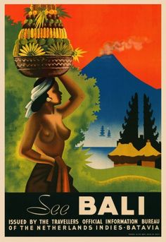 Picture This Gallery, Hong Kong | See Bali - Fine Art Reproductions of Art Deco Travel Posters