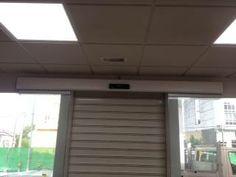 puerta de cristal automatica Nice