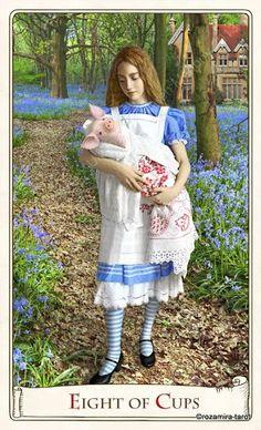 Eight of Cups - Alice Tarot - rozamira tarot - Picasa Web Albums