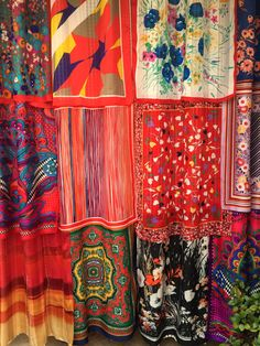 THE WONDER CIRCUS Bohemian Gypsy Curtains by by BabylonSisters