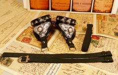 UPGRADE  Interchangeable goggle strap by dreameddesigned on Etsy, $3.99