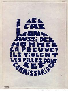 [Mai 1968]. Les CRS sont aussi des hommes. La preuve ils violent les filles dans les commissariats : [affiche] / [non identifié]