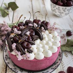 Nunca es demasiado dulce: Tarta de Coco sin horno Yogurt Cake, Cherry Cake, International Recipes, Deli, Acai Bowl, Panna Cotta, Cooking, Breakfast, Ethnic Recipes