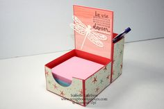 Scrapbook toujours avec Isabelle Lefebvre Decorative Boxes, Container, Scrapbook, Home Decor, Decoration Home, Room Decor, Scrapbooking, Home Interior Design, Decorative Storage Boxes