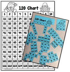 Math Coach's Corner: Humpty Dumpty 120 Chart...Putting the Pieces Together Again