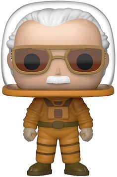 Funko Convention Exclusive Marvel Guardians of The Galaxy Stan Lee Cosmonaut w/ Free Protech Case Pop Marvel, Marvel Comics, Marvel Universe, Stan Lee Funko Pop, Hulk, Stan Lee Cameo, Thor, Galaxy Vol 2, Mighty Ape