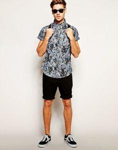 Macho Moda - Blog de Moda Masculina: Camisa Masculina de Manga Curta, pra…