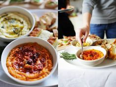 Dip z kaszy jaglanej i focaccia Apple Pie, Ramen, Ethnic Recipes, Food, Essen, Meals, Yemek, Apple Pie Cake, Eten