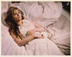 0 marianna hill in white nightdress