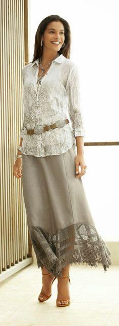 Cute Summer Maxi Skirt