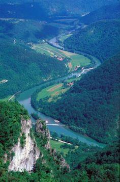 Valley of the river Kolpa, Slovenia