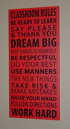 Now THIS is an end of year present for a teacher! quotes....thinking of making a home rules poster for my baby girl!