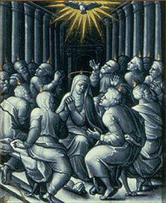Znalezione obrazy dla zapytania pentecost painting