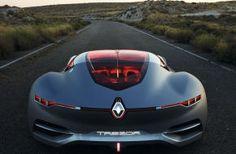 Renault Trezor: Heckansicht