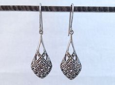 Silver and Marcasite Earrings