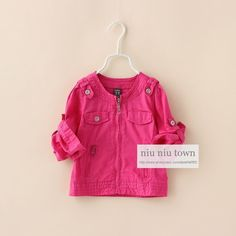 00085 TJ-7J119 Free shipping 5 pcs/lot Wholesale The new children's clothing autumn color round neck jacket http://www.aliexpress.com/store/1047972