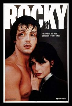 In the classic movie Rocky, Sylvester Stallone packed a real punch (1976)