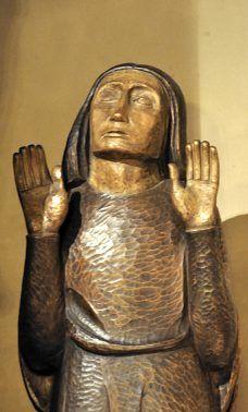 Saint Jean dans le Calvaire en bois