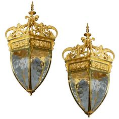 1stdibs - Beautiful Pair Of French Bronze Lanterns explore items from 1,700  global dealers at 1stdibs.com