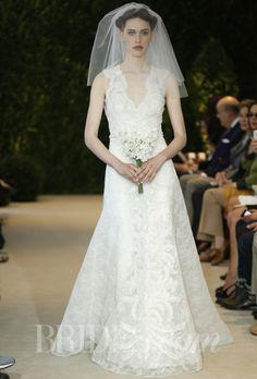 Brides: Carolina Herrera - Spring 2014   Bridal Runway Shows   Wedding Dresses and Style   Brides.com
