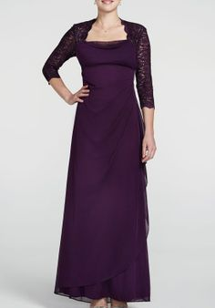 TheKnot.com - mother of the bride's dress