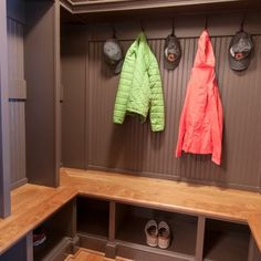 Mudroom in renovated rambler | Residence in Falls Church, Virginia | Ballard Mensua Architecture