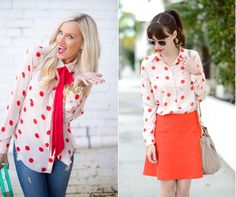 Nice summery red dots for nice summery mood!