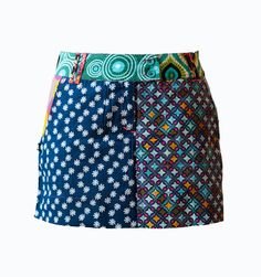 Brand New Patchwork Skirts - Boom Club First