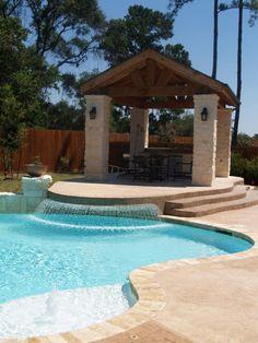 Backyard Oasis Ideas patio, pool aprons, outdoor living space, backyard, pool