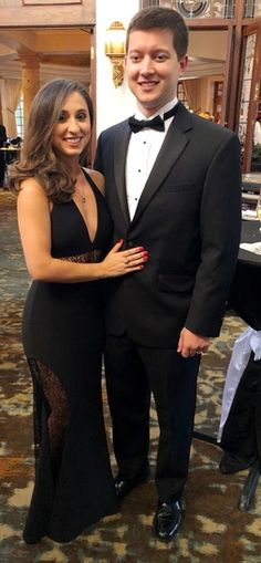 """Spent the evening with my """"James Bond"""" at the Dominion Women's Forum gala.  #redcarpetlook #gala #formaldress #ShopStyle #shopthelook #MyShopStyle #BlackTieLooks #livelaughlighty"""