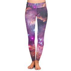 bafabf5f79b6b5 Fairytale Galaxy Yoga Leggings Low Rise Full Length XS-3XL  leggings   collection  woman  women  clothing