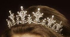Festoon Diamond Tiara, United Kingdom (1973; diamonds). World Wide Shipping Group's wedding gift to Princess Anne.