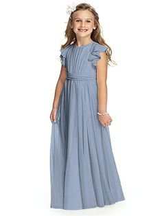 Junior Bridesmaid dresses. This style but in carnation
