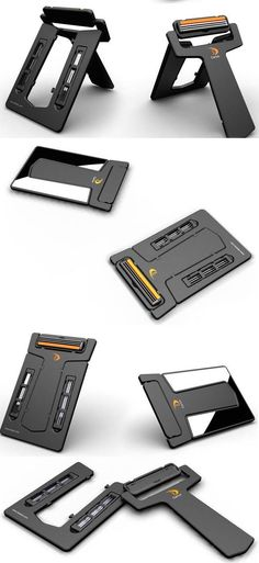 The Vktech Carzor Shaver is a card sized portable shaver that you can carry with you in your wallet.