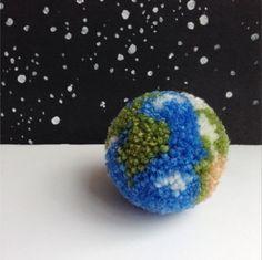 Earth Pom Pom